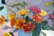 Flower painting modern artists 19/20/21 C.