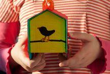 Cardboard design for playful kids / Design for kids