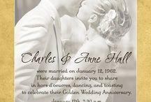 Parents 50th wedding anniv party