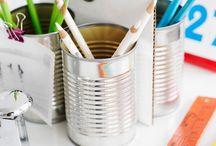 Tips & Trics - Creatief Opruimen / Lekker opruimen door eerst creatief te zijn :-)