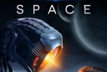 Lost in space / Really cool tv show and I nerd for space