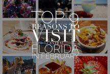 Central Florida Travel Must Do, See & Eat / Reasons to visit Central Florida (Orlando, Tampa, St. Pete, Daytona,Cocoa Beach)
