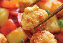 Asian inspired eats / by Brenda Robinson