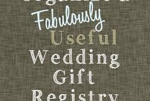 Wedding: ~Registry~ / by Jamie Jacobson