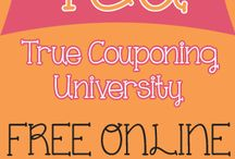 FREE Coupon Classes: True Couponing Workshops / Learn how to coupon in our FREE online coupon classes. True Couponing University is a series of videos that will teach you step by step how to use coupons to save money on your groceries! / by True Couponing Deals & Savings