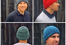 Handsome knits / Handsome knit hats, scarves, fingerless gloves and other practical clothing ideas.