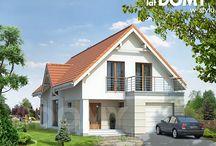 Zbiór projektów domów interesujących