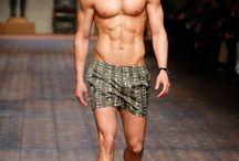 Male catwalk