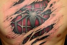 Tattoos / A pele é uma tela
