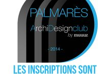 Palmarès ArchiDesignClub 2014 / by Muuuz