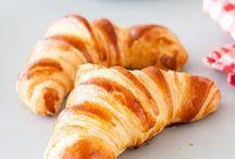 Croissants y brioches....