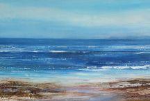 Joanne Last / Joanne Last artist painter paintings seascape landscape coastal st ives cornwall for sale