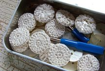 Botões crochet
