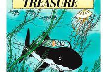 Tintin et le tresor de rackham le rouge
