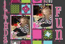 Theme:  birthday layouts