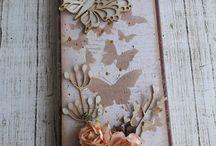 czekoladownik / Ręcznie wykonane i ozdobione pudełka na czekoladę, zwane czekoladownikami, które stanowią gustowne opakowanie symbolicznego prezentu jakim jest wręczenie czekolady. Do wykonania wykorzystano produkty marki Papelia i inne dostępne w sklepie Craft Style