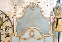 Beds: Painted furniture / Inspiration for painted beds