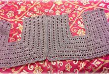 chalecos y blusas crochet
