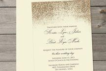 Свадьба с золотыми блестками