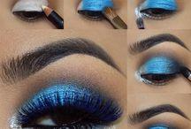 Siniset meikit