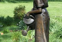 zahradne sochy