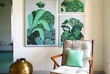 Wall art / Framed art on walls