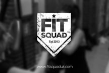 Fit Squad branding / Brighton Boxercise, a Brighton based fitness club approached us recently to create their new brand from scratch. They had decided to re brand as Fit Squad and needed our help. We developed a brand identity based around a loyalty card scheme with a military theme. A club member would be rewarded with a new stripe and a T shirt after having a set amount of loyalty cards stamped.