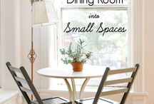 Dine  / dining room inspiration  / by Binks and the Bad Housewife