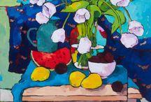 Scottish artists - Angus Wilson, Frank Colclough