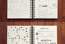 the notebooks doodles