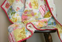 Quilts- Vintage Look / Inspiration for quilts made with vintage sheets, linens, doilies