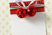 Xmas tags and presents