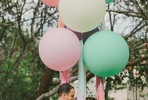 Mint-pink wedding