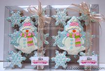 Cute Christmas snowman / Gingerbread