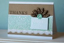 CARDS: Dies, Embossing and Punches