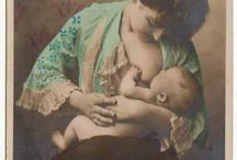 Pre 1910 images of woman nursing