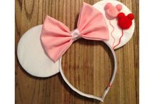 DIY wearables to Disneyland / Gathering ideas to customize Mickey ears/headband / by Jess Trish Lukito