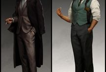 Character Design - Detective
