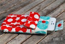 Nähen - Taschen und Täschchen / Kleine Täschchen, Taschen, Smartphone-Hüllen und Co...