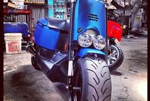 Yamaha C3 Scooter