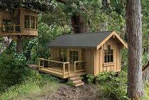 Ağaç Evler wood house / agac evler bungalow