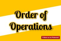 Order of Operations / Order of Operations Games, Activites & Fun Worksheets  Order of Operations Games: Solve problems involving multiple steps and multiple operations.   Order of Operations, Order of Operations Games, operations practice, order of operations activities.  https://www.teacherspayteachers.com/Store/Mathfilefoldergames/Category/Order-of-Operations-Games