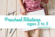 Milestones ages 3-5