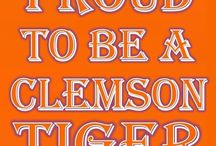 Clemson Tiger Nation  / BCS Orange Champs 2014  / by Timothy Farmer