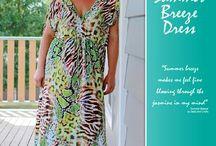 Ladies Summer Breeze Dress sewing pattern by Pattern Emporium