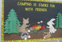 Bulletin Boards: Camping-Themed / by Polly Wickstrom