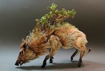 art: sculptures and statues / by Lori Ginn Reed