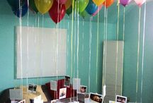 Birthday decorations & Party Ideas