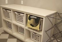 Laundry room makeover / by Jennifer Snow