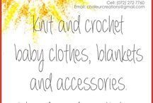 Chaleur Creations / Affordable, quality, handmade knit and crochet items for babies and toddlers.